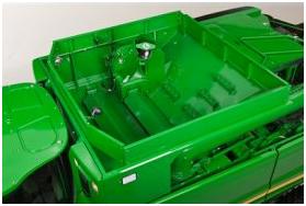 Sinfín de carga en el S550 con depósito de grano de 8800 L