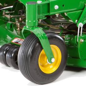 Neumático orientable delantero