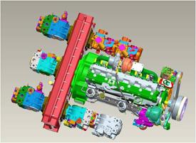 Sistema hidráulico avanzado