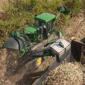 Extractor primario en acción