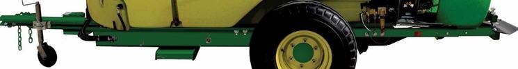 Chasis del pulverizador con pintura duradera