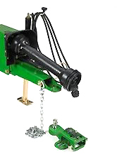 Enganche con igualador de ángulo de barra de tracción