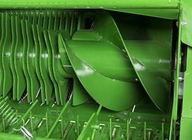 Sinfines de paso rápido en el rotor primario