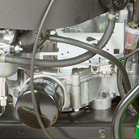 Filtro de aceite del motor y filtro de combustible