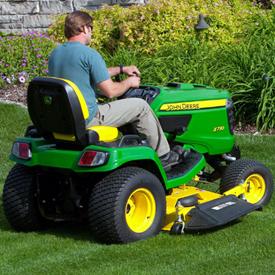 Tractor de jardín X730