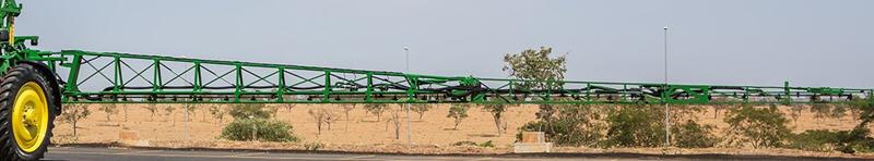 Barra de pulverización de acero con 30.5 m (100 ft.)