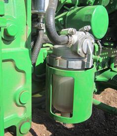 Unidad de separador de agua