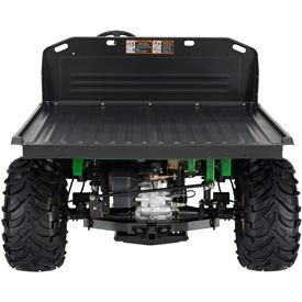 Caja de carga de lujo convertida en una plataforma plana