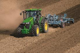 Reduce compaction with AutoTrac™ guidance system