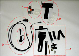 Universal steering supplemental kit - F
