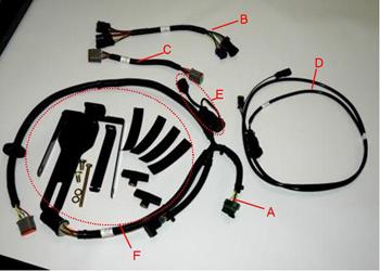 Universal steering supplemental kit - E