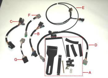 AutoTrac Universal steering supplemental kit -L