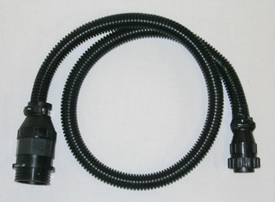 Rate controller pull-type sprayer adapter harness