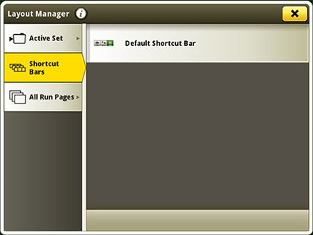 Layout Manager application
