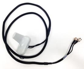 High-performance antenna with 182.9-cm (6-ft) cable