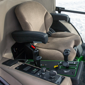Seat and controls