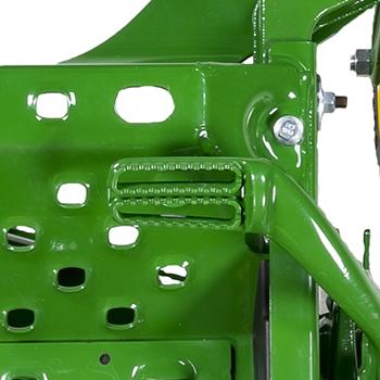 Mower lift pedal