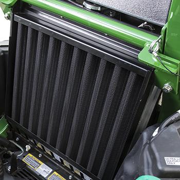 Radiator debris screen