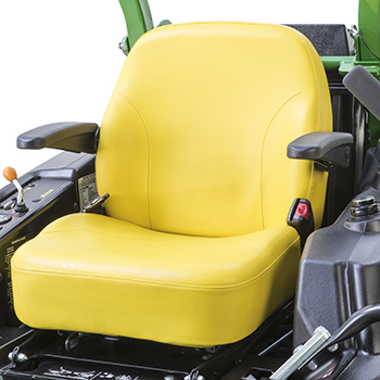 Deluxe comfort seat with armrests