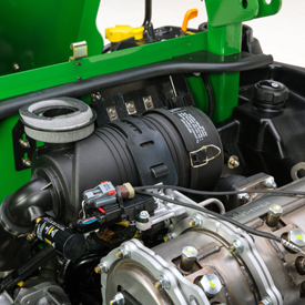 Engine air cleaner