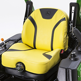 Fully-adjustable, mechanical suspension-seat