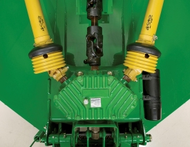 Five-year warranty on all flex-wing gearboxes