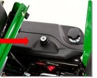 Fuel gauge and filler cap