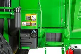 Fuel and diesel exhaust fluid fill stations