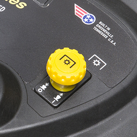 Electric PTO engagement switch