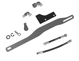 Adapter kit for 3-point hitch