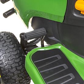 Parking brake pedal