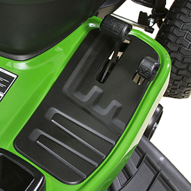 Hydro/automatic foot-control pedals