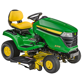 X370 with Accel Deep 42A Mower