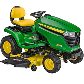 X394 with Accel Deep 54A Mower
