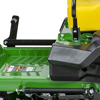 Mower lift-assist spring