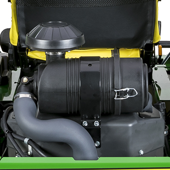 Heavy-duty canister air filter