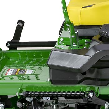 Mower lift-assist spring