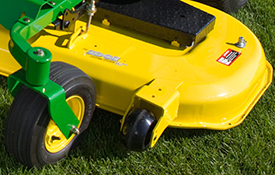 Z540M with 62-in. (157-cm) Edge mower deck