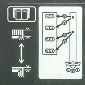 Motion control lever positions
