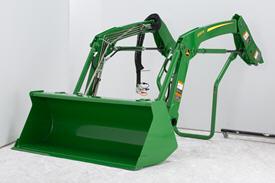 Quik-Park loader mounting system