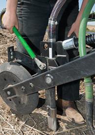 Seed depth adjustment