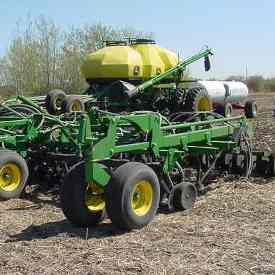 1835 seeding wheat and applying ammonia separately
