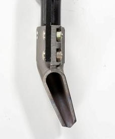 Single row/side banded - rear shot