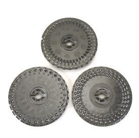 Flat-style and cell seed disks shown