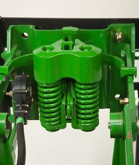 Heavy-duty adjustable downforce spring