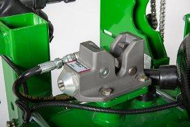 Hydraulic locking mechanism for in-cab wing locking