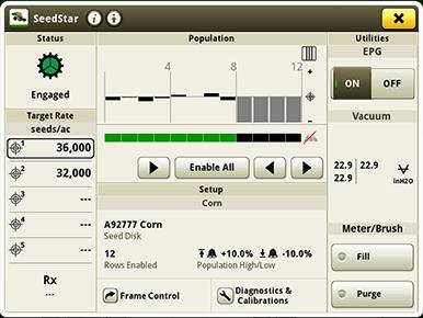 SeedStar application run page