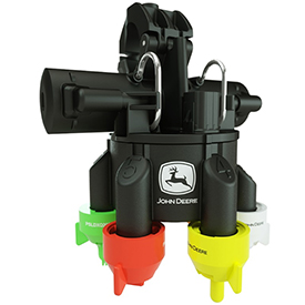 ExactApply nozzle control