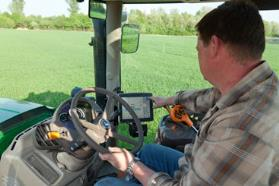 Convenient in-cab control saves valuable time