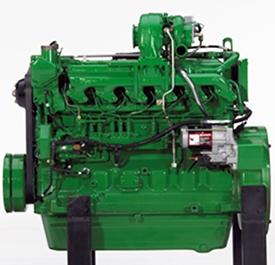 6.8-L John Deere PowerTech E diesel engine